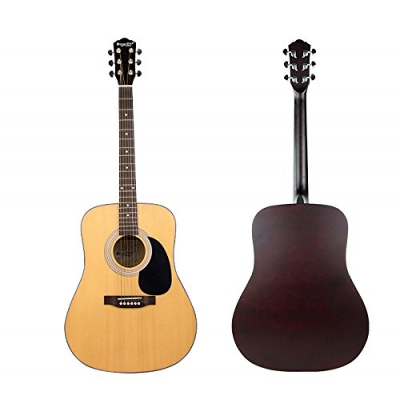 strong wind 41 inch dreadnought 6 steel string acoustic guitar. Black Bedroom Furniture Sets. Home Design Ideas