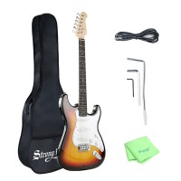 Strong Wind Poplar Electric Guitar for adults