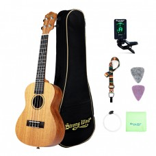 Strong Wind 23 inches Mahogany Concert Ukulele for beginners