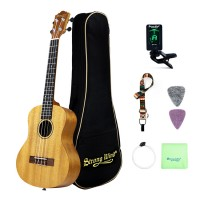 Strong Wind 26 inches Mahogany Tenor Ukulele for beginners