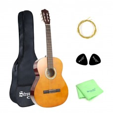 Strong Wind 39 Inch 4/4 Classical Guitar 6 Nylon Strings Beginner Guitar
