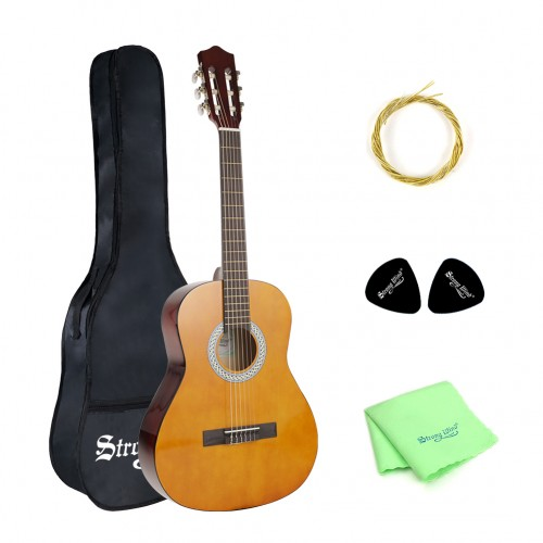 Strong Wind 3/4 Classical Guitar 36 Inch Beginner Guitar